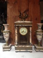 click for more details Marmer clock - set